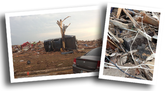 Tornado Destruction - Road Runner Cases