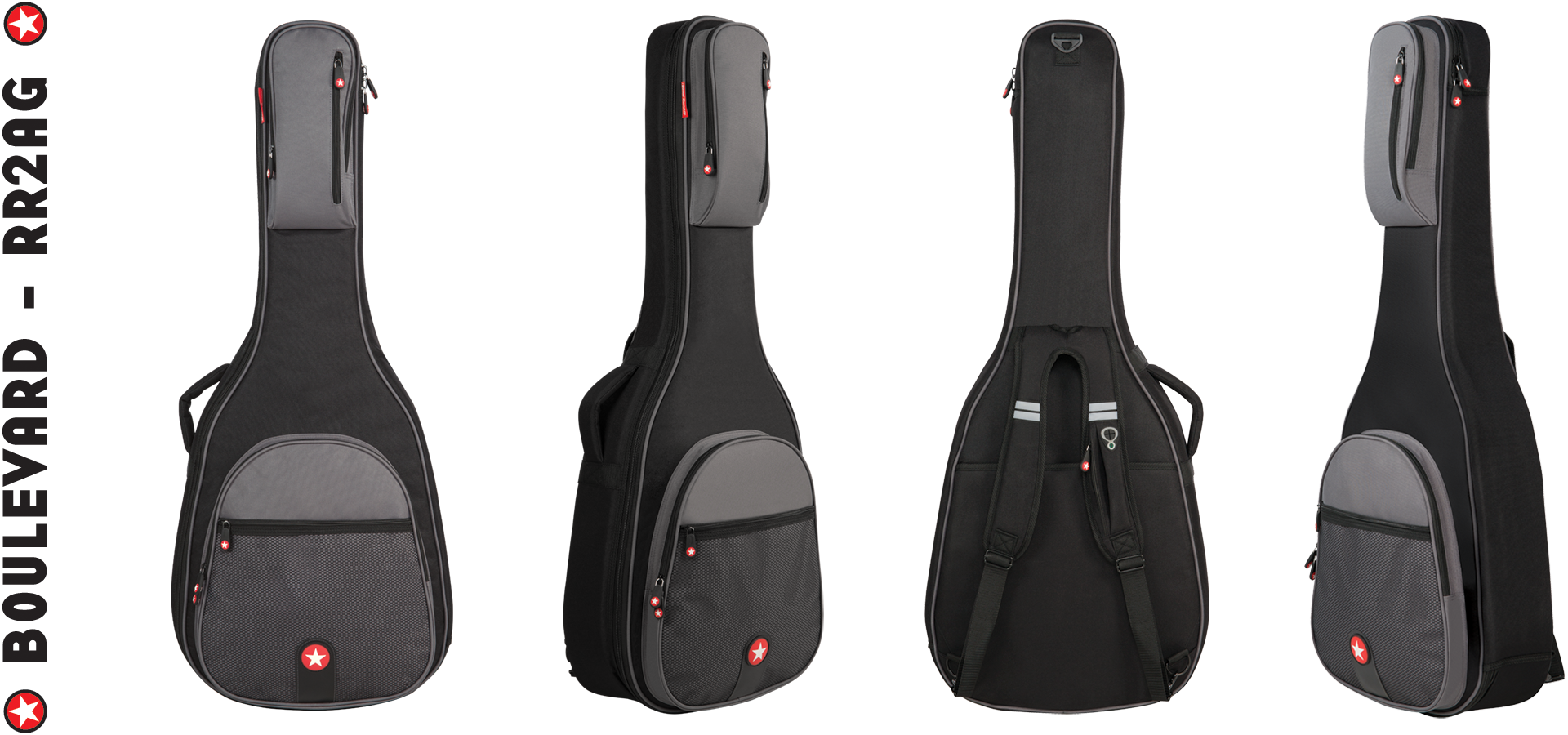 Acoustic Guitar Bag Road Runner Boulevard RR2AG