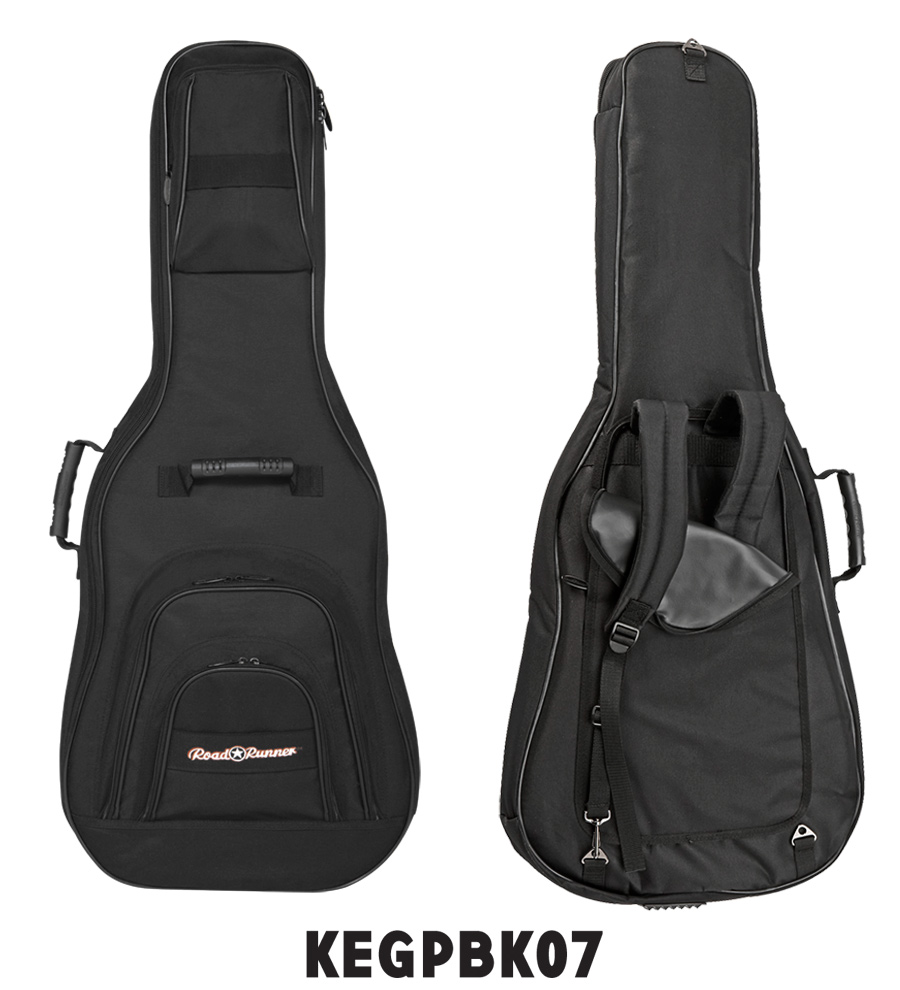 Roadster Electric E Guitar Gig Bag KEGPBK07