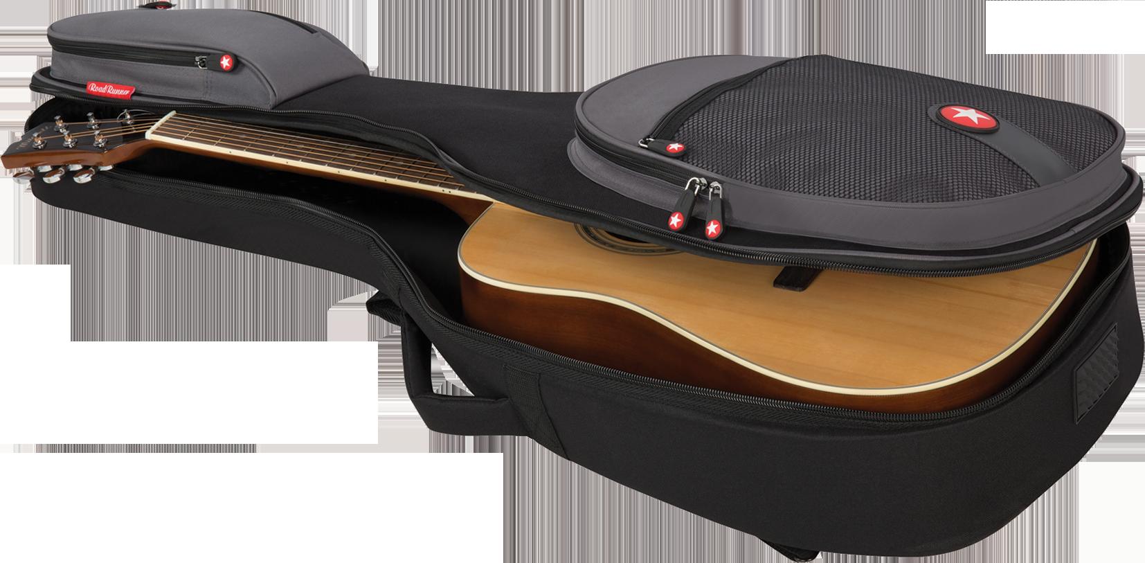 Acoustic Guitar Padded Gig Bag Road Runner Boulevard RR2AG
