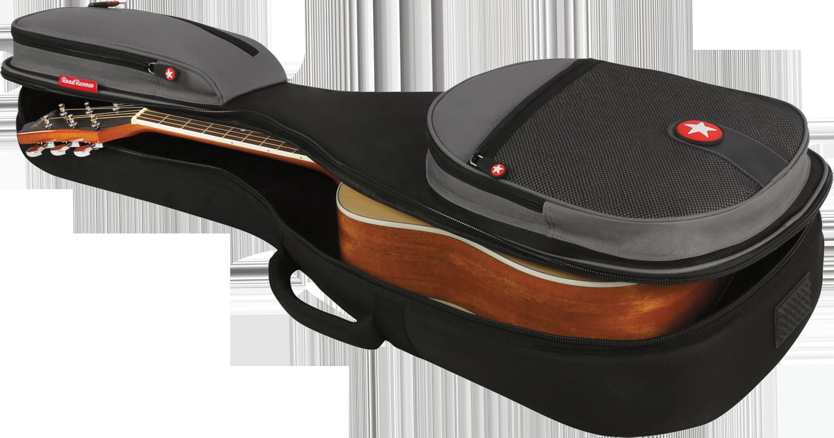 Parlor Acoustic Guitar Gig Bag Road Runner Boulevard RR2PAG