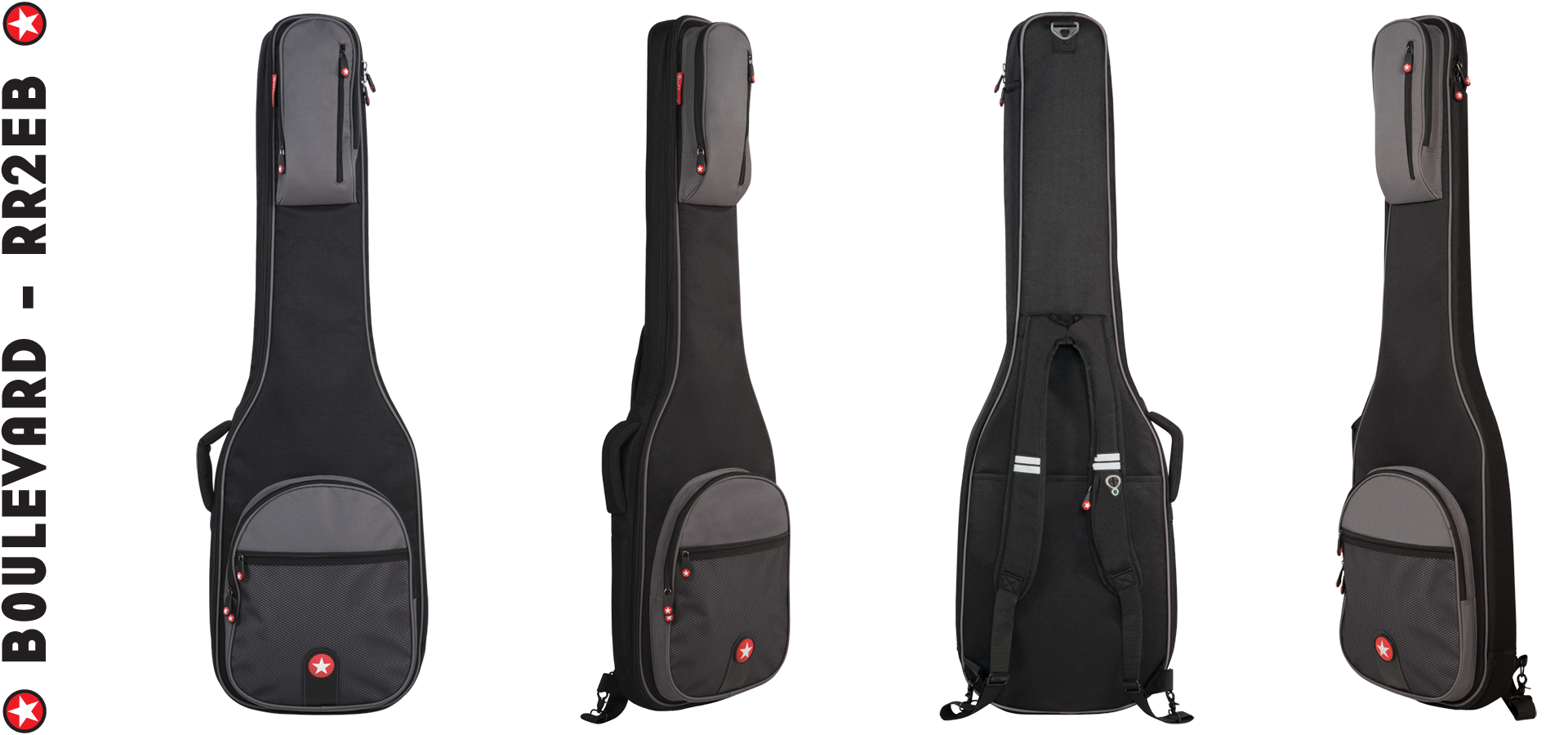 Electric Bass Gig Bag Road Runner Boulevard RR2EB