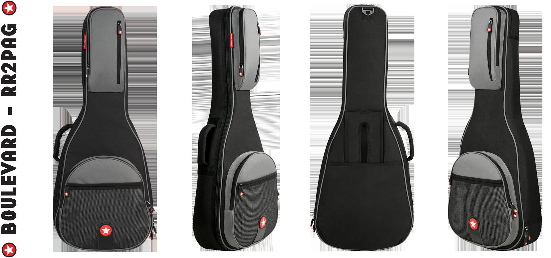 Parlor Acoustic Guitar Bag Road Runner Boulevard Series RR2PAG
