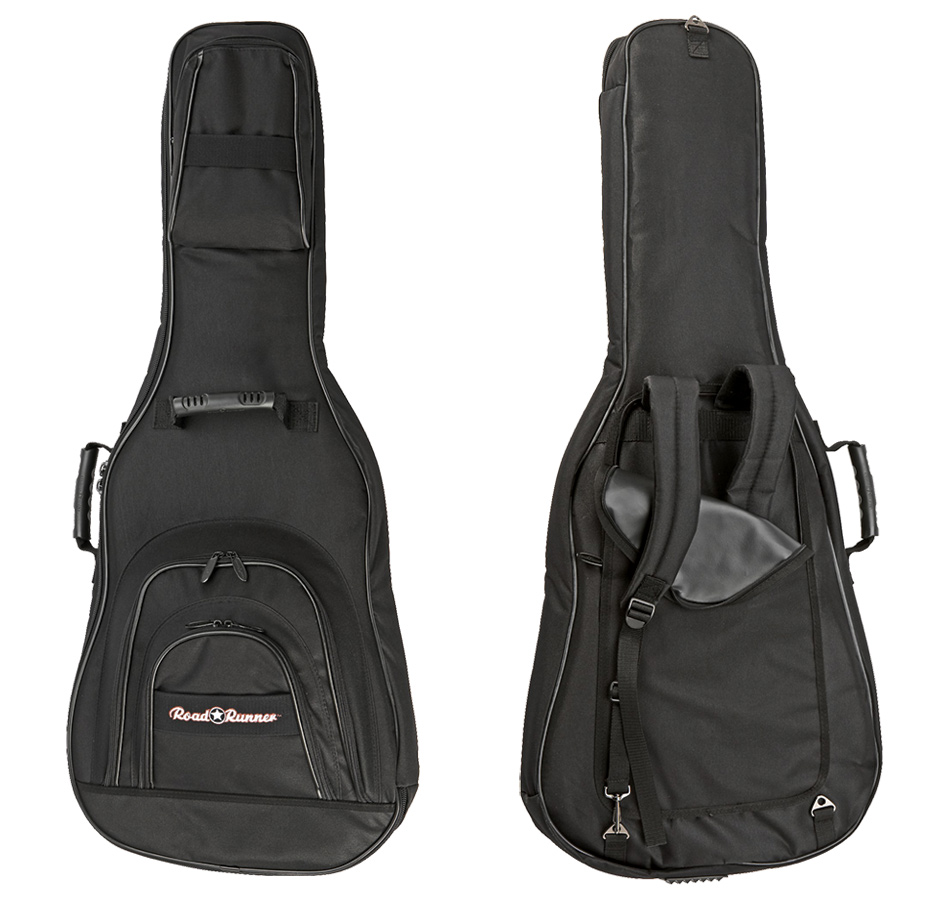 Electric E Guitar Gig Bag Road Runner KEGPBK07