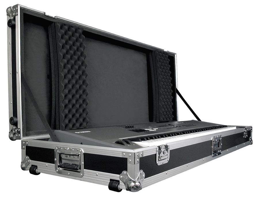 Keyboard Flight Case with Casters Road Runner KBRR61W