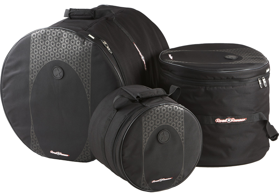 Touring 3 piece Drum Bag Set Road Runner RDBS1