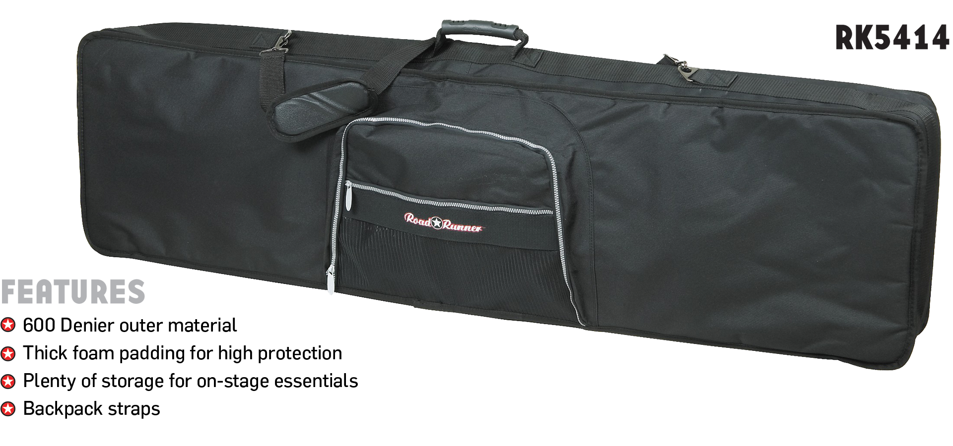 88-Key Keyboard Bag Road Runner RK5414