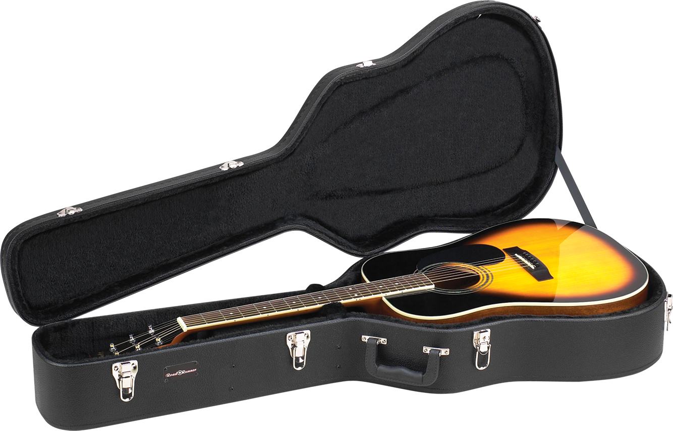 Wood Dreadnought Acoustic Guitar Case RRDWA