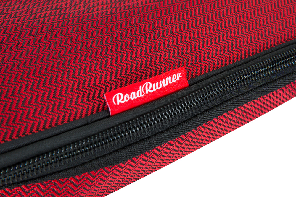 Road Runner RR1EGR Red Tweed Electric Guitar Gig Bag