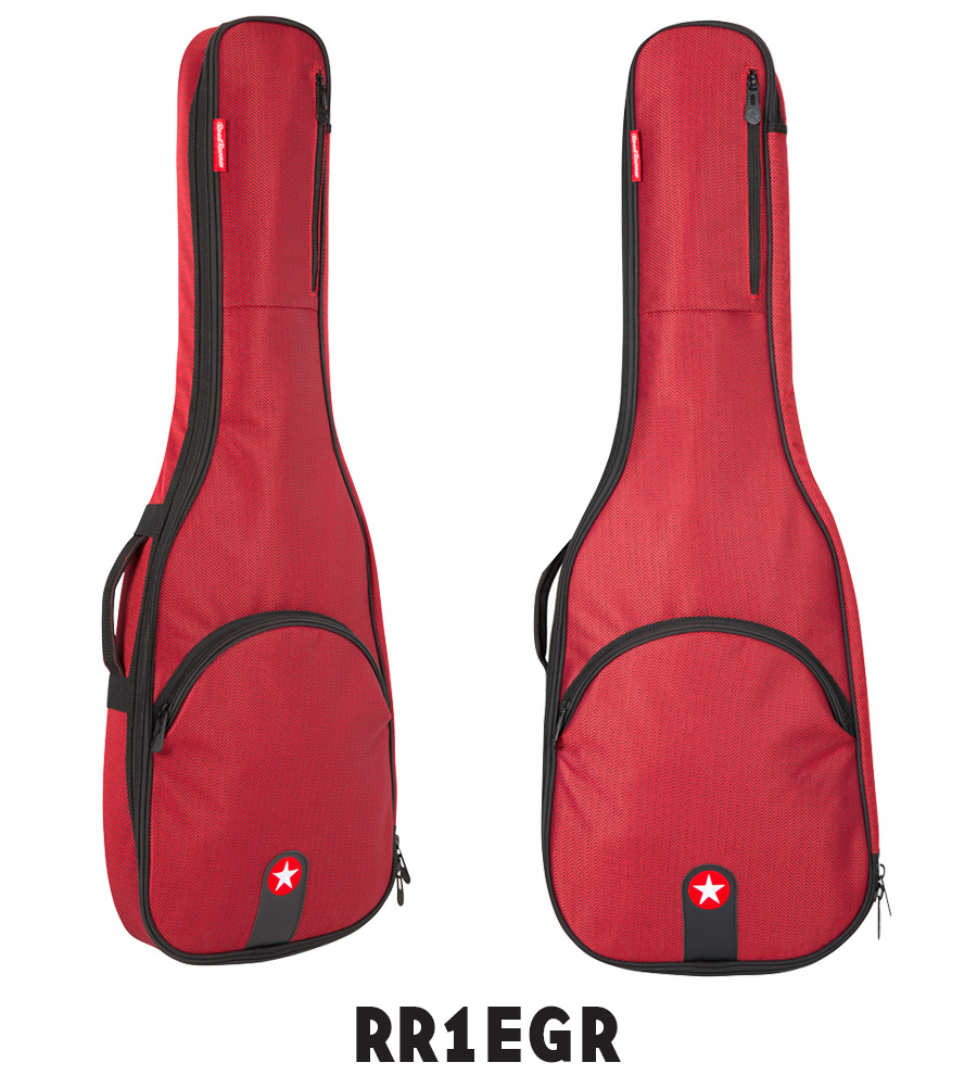 Red Electric Guitar Gig Bag Road Runner RR1EGR