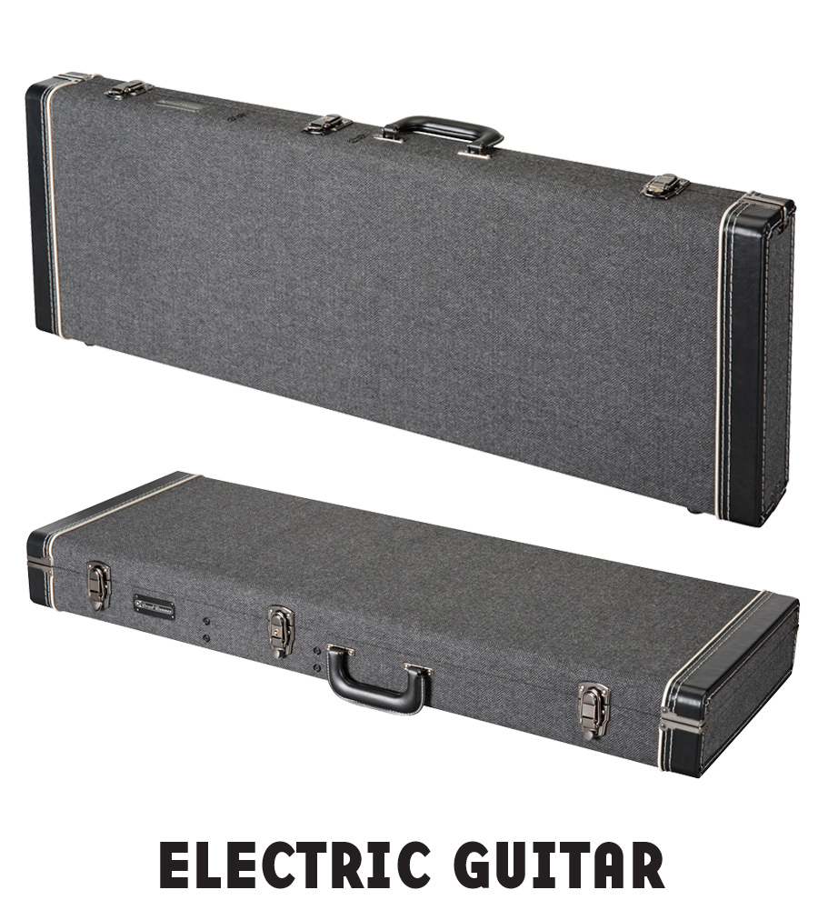 Electric Guitar Wood Case Road Runner Boulevard Series