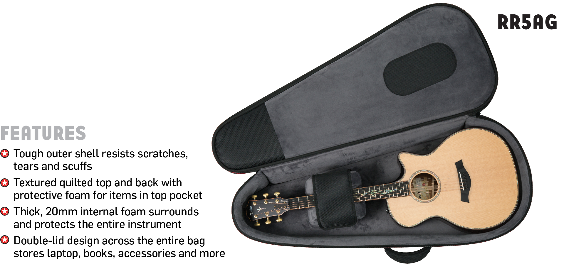 Highway Acoustic Guitar Gig Bag Road Runner