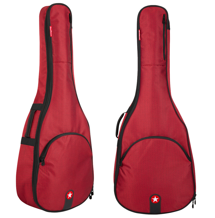 Red Acoustic Guitar Bag Road Runner Avenue Series