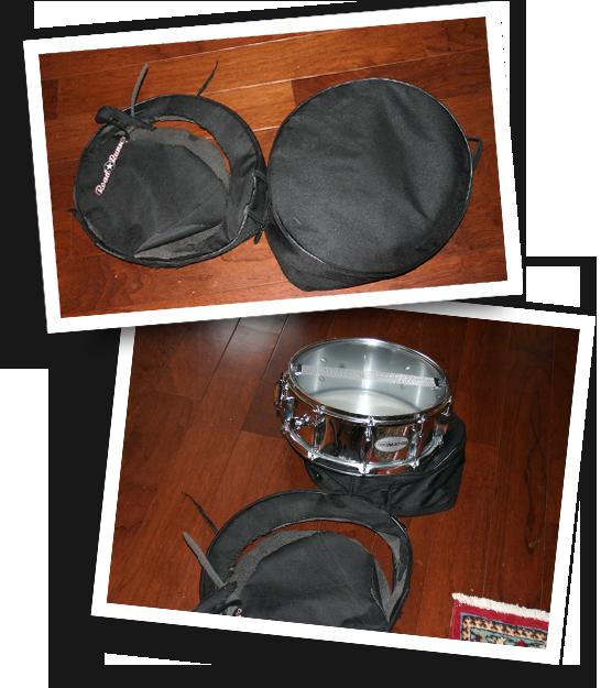 Crushed Snare Bag - Road Runner