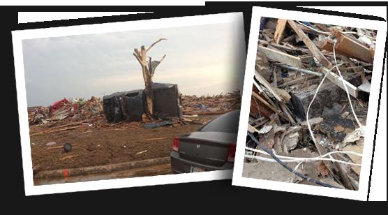 Tornado Destruction - Road Runner Cases