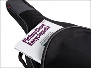 Guitar Bag with Music Book Storage Avenue Series Road Runner