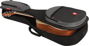 Parlor Travel Acoustic Guitar Gig Case Road Runner RR2PAG