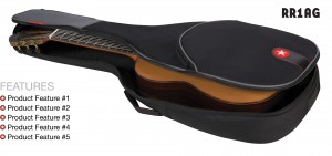 Acoustic Guitar Bag Road Runner Avenue Series RR1AG