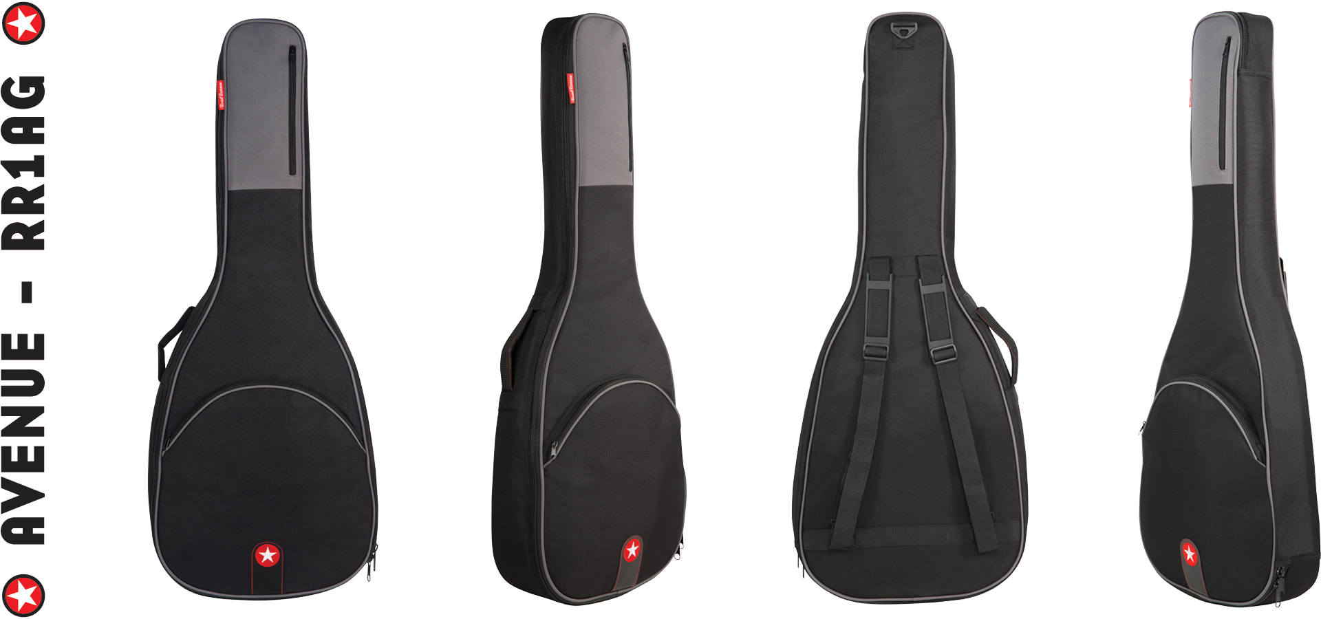 Acoustic Guitar Bag Road Runner Avenue Series RR1AG