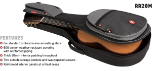 OM Guitar Bag Features Road Runner RR2OM
