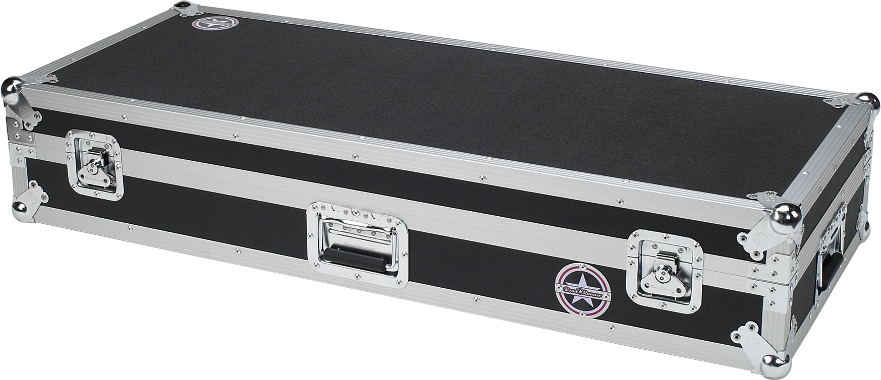 61 Key Keyboard Flight Case with Casters Road Runner KBRR61W