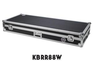 Keyboard Flight Case with Casters KBRR88W