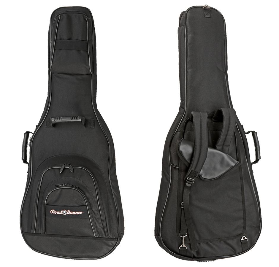 Electric E Guitar Gig Bag Road Runner KEGPBK07