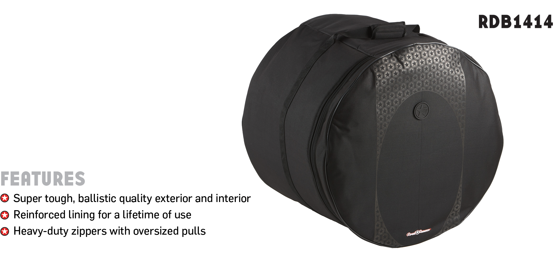 "14""x14"" Touring Drum Bag Road Runner RDB1414"