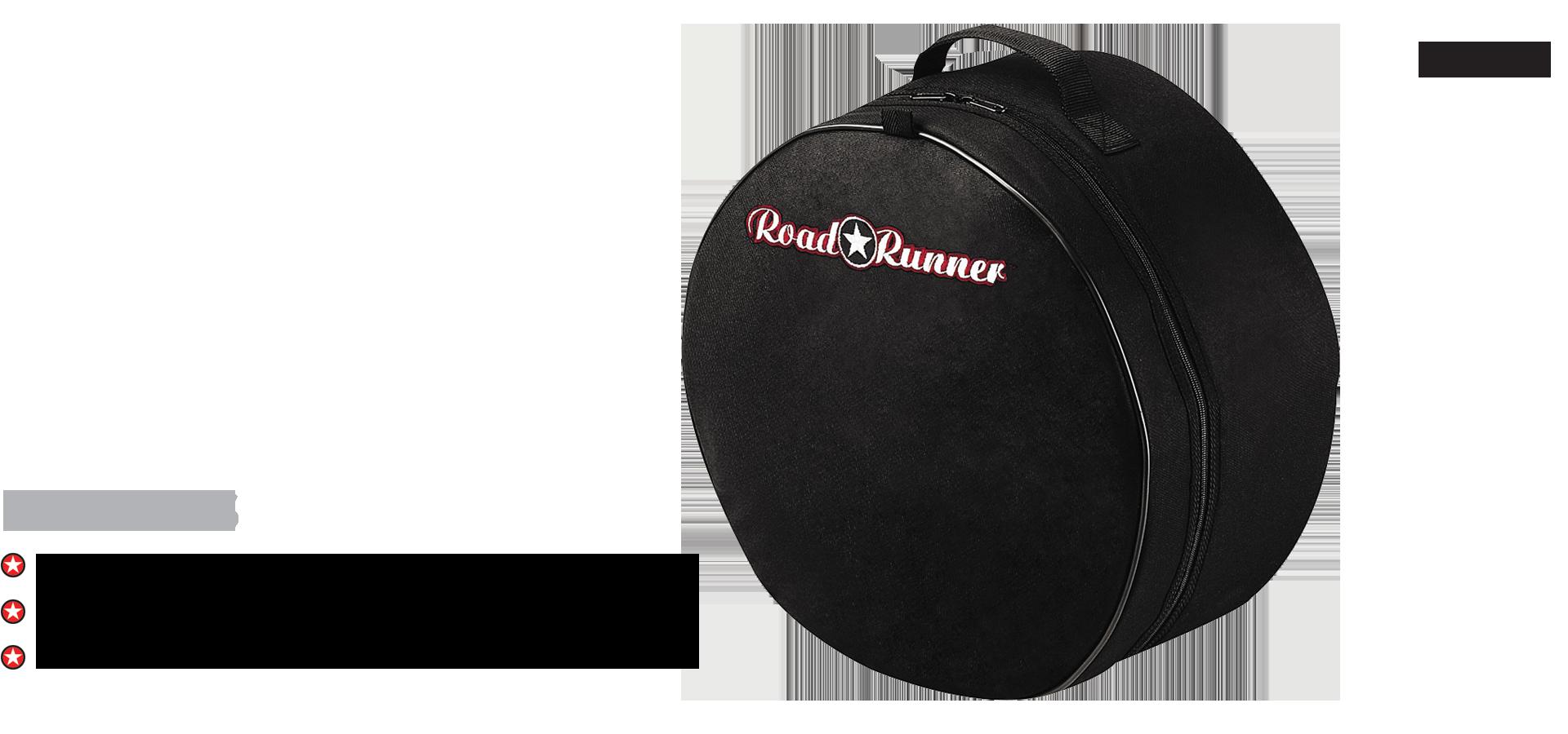 Padded Snare Drum Bag Road Runner RP610