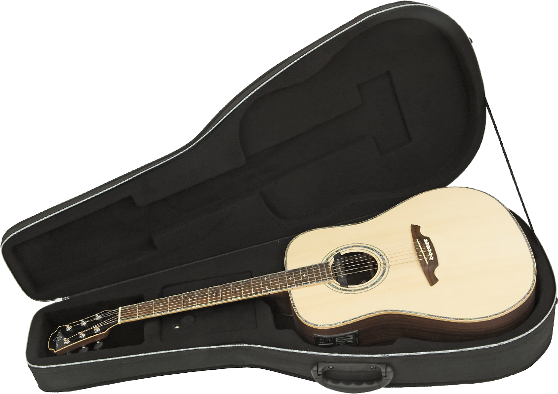 Polyfoam Acoustic Guitar Case Road Runner RPFA20