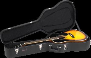 Dreadnought Acoustic Guitar Wood Case RRDWA