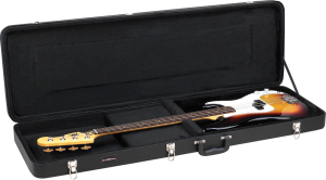 Deluxe Wood Bass Guitar Case Road Runner RRDWB