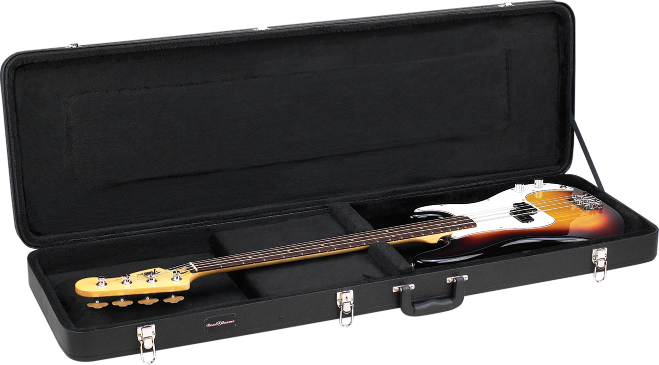 Deluxe Wood Bass Guitar Case Road Runner RRDWB