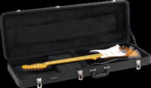Deluxe Wood Electric Guitar Case Road Runner RRDWE
