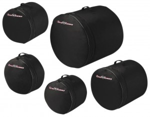 5-Piece Fusion Drum Bag Set Road Runner RRFDS5