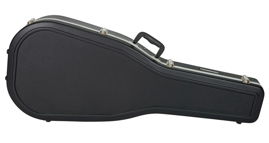Vintage Style Dreadnought Molded Guitar Case Road Runner RRMA29