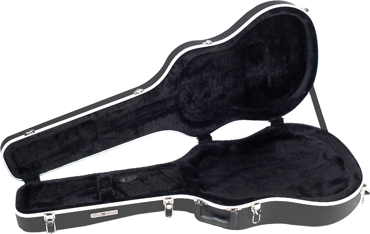 Shallow Roundback Acoustic Guitar Case Road Runner RRMA8117