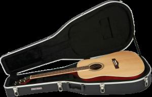 Molded Acoustic Guitar Case Road Runner RRMA828