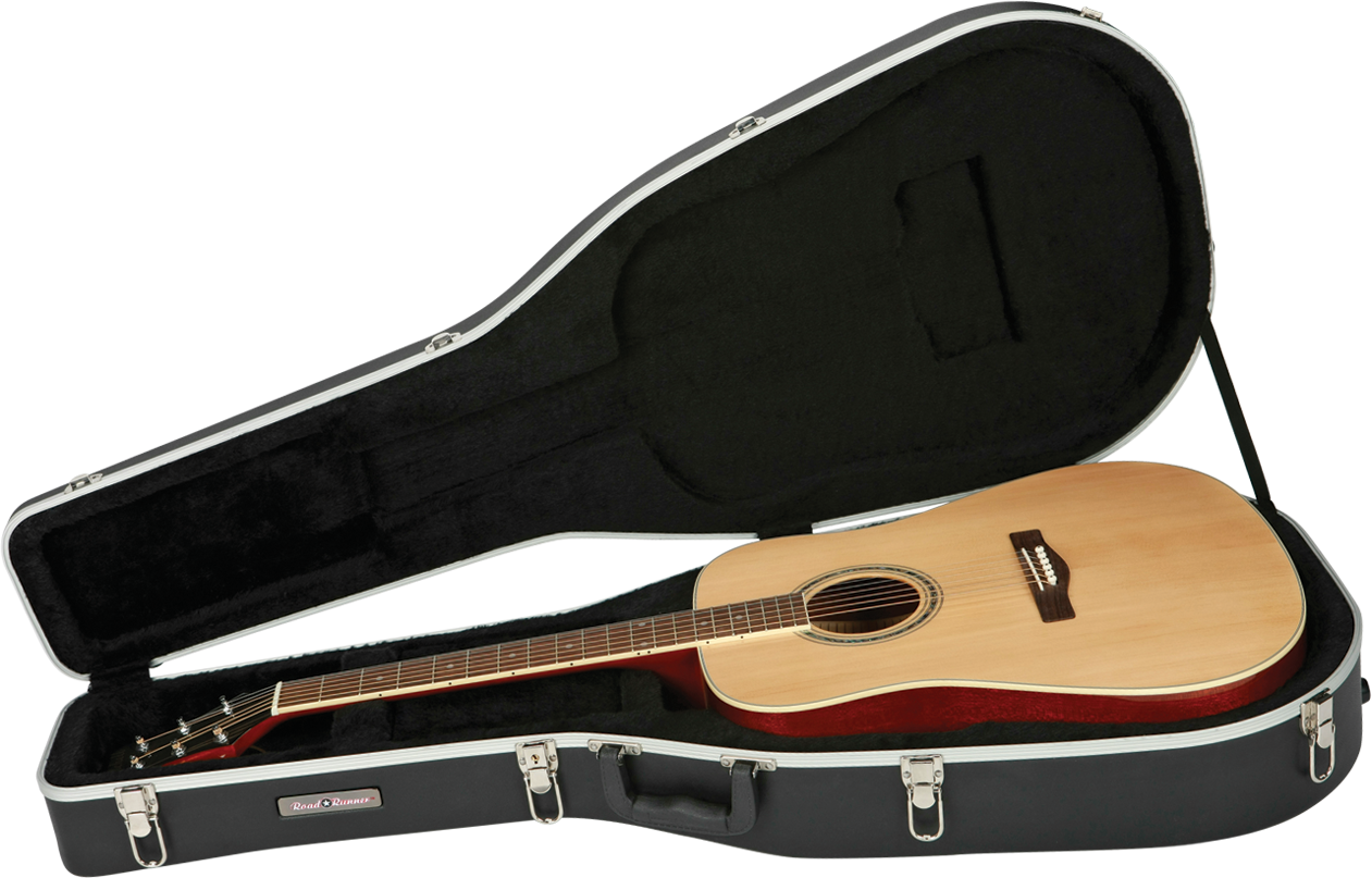 Molded Acoustic Guitar Case Road Runner RRMA828