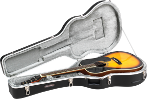 ABS Molded Acoustic Dreadnought Guitar Case Road Runner RRMADN