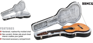 ABS Molded Classical Guitar Case Road Runner RRMCG