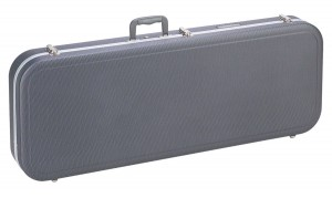 Graphite Looking Electric Guitar Case RRMEGGL