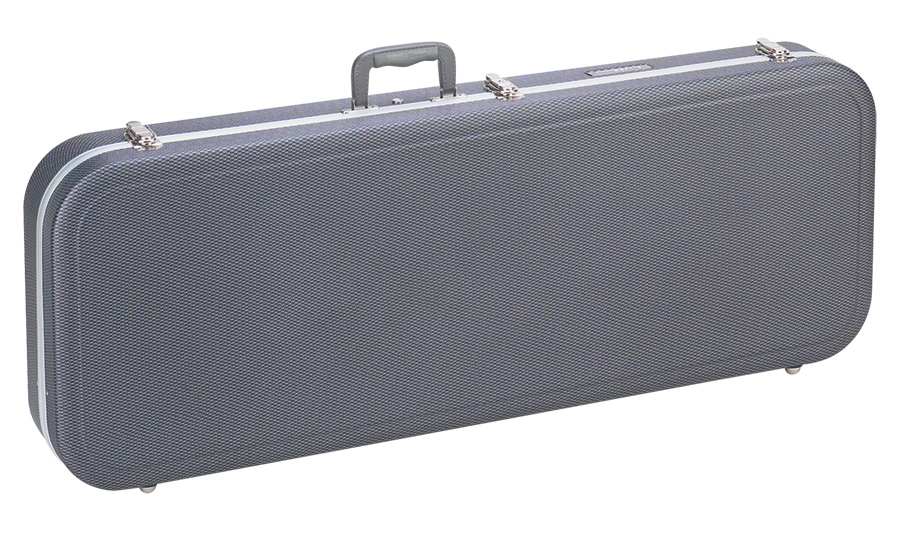Graphite Looking Electric Guitar Case Road Runner RRMEGGL