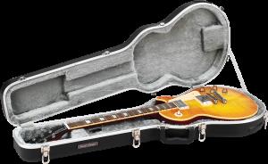 ABS Molded Single Guitar Cutaway Guitar Case Road Runner RRMELP