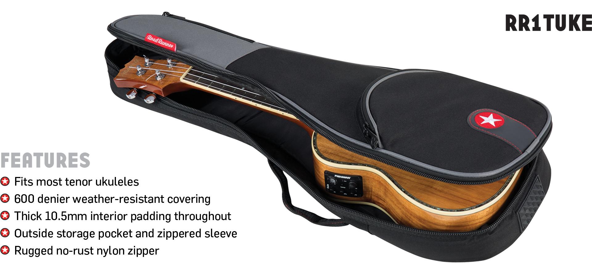 Tenor Ukulele Bag Road Runner Avenue Series RR1TUKE
