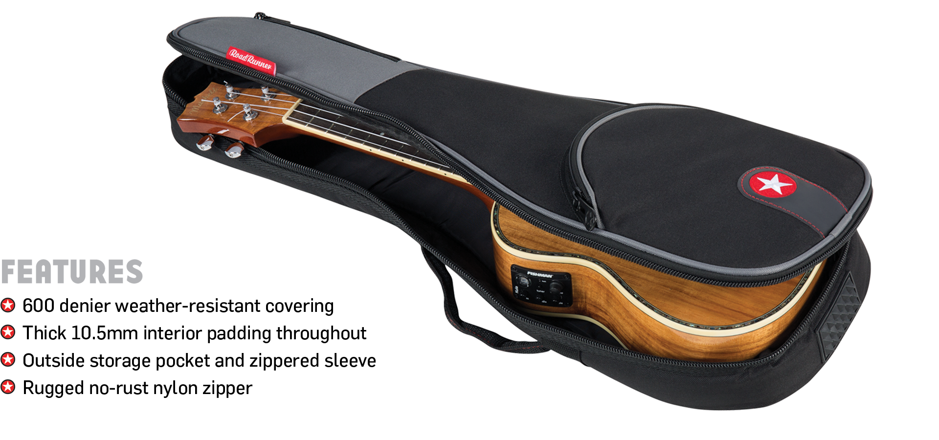 Padded Ukulele Gig Bags Road Runner