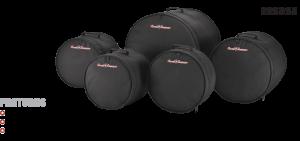 5-Piece Standard Drum Bag Set Road Runner