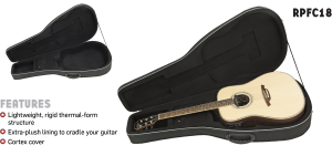 RPFC18 Polyfoam Classical Guitar Case
