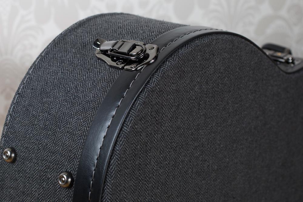 Road Runner RRBTWA Black Tweed Acoustic Dreadnought Wood Boulevard Series