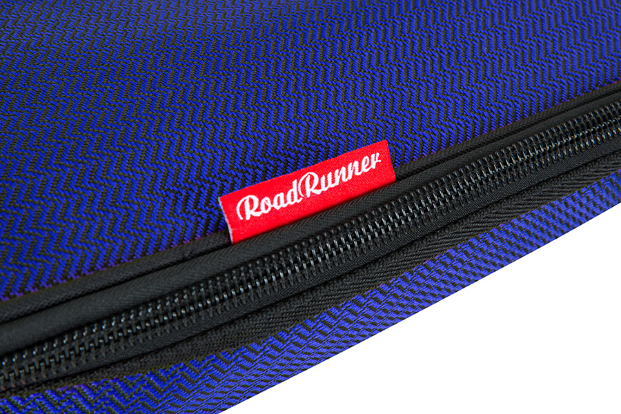 Road Runner RR1EGB Blue Tweed Electric Guitar Gig Bag